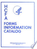 HCFA Forms Information Catalog Book