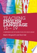 Teaching English Language 16 19
