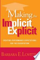 Making the Implicit Explicit
