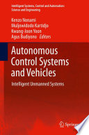 Autonomous Control Systems And Vehicles Book PDF