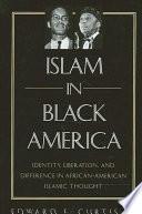 Islam in Black America Book