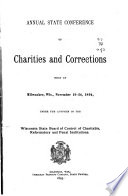 Proceedings Of The Wisconsin Conference Of Charities And Corrections Held At
