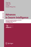 Advances in Swarm Intelligence  Part II
