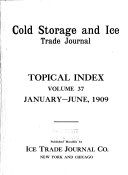 Cold Storage and Ice Trade Journal