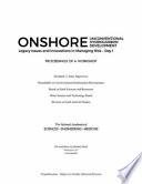 Onshore Unconventional Hydrocarbon Development