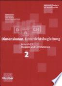 Dimensionen. Lernpaket 2. Unterrichtsbegleitung