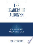 The Leadership Acronym
