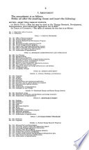 Energy Research  Development  Demonstration  and Commercial Application Act of 2005  109 1 House Report No  109 216  Part 1