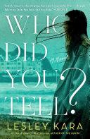 Who Did You Tell? Pdf/ePub eBook