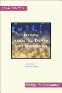 Dying, Assisted Death and Mourning