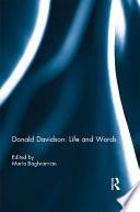 Donald Davidson: Life and Words