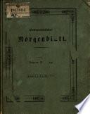 Österreichisches Morgenblatt ; Zeitschrift für Vaterland, Natur und Leben ; Hrsg. ... von Nikolaus Österlein [et al.]