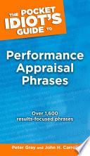The Pocket Idiot s Guide to Performance Appraisal Phrases