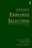 Handbook of Employee Selection
