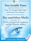 Ihre unsichtbare Macht  : Your Invisible Power