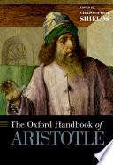 The Oxford Handbook of Aristotle Book