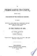 A Persuasive To Unity Book PDF