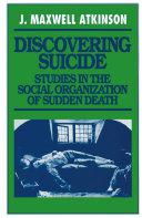 Pdf Discovering Suicide