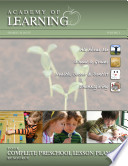 Academy of Learning  Your Complete Preschool Lesson Plan Resource   Volume 3 Book PDF