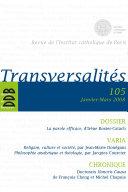Pdf Transversalités n°105 Telecharger