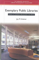 Exemplary Public Libraries Book