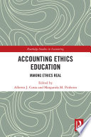 Accounting Ethics Education Book