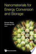 Nanomaterials For Energy Conversion And Storage Book
