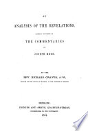 An Analysis Of The Revelations Chiefly Founded On The Commentaries Of J Mede Book PDF