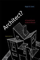 Architect   third edition