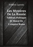 Pdf Les Myst?res De La Russie Telecharger