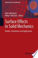 Surface Effects in Solid Mechanics