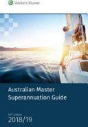 Cover of Australian Master Superannuation Guide 2018/19