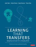 Learning That Transfers Pdf/ePub eBook