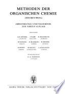 Methoden der organischen Chemie (Houben-Weyl).