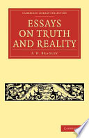 Essays On Truth And Reality Book PDF