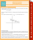 Statistics  Parameters  Variables  Intervals  Proportions   Speedy Study Guides