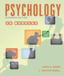 Psychology in Modules Book