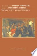 New Readings Of Yiddish Montreal Traduire Le Montr Al Yiddish
