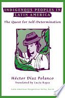 Indigenous Peoples In Latin America Book PDF