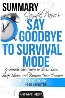 Summary Crystal Paine's Say Goodbye to Survival Mode: 9 ...