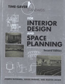 Time Saver Standards for Interior Design and Space Planning  Second Edition Book