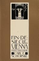 Fin-de-siáecle Vienna