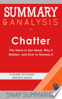 Summary   Analysis of Chatter