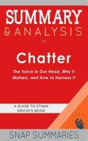Summary & Analysis of Chatter Pdf/ePub eBook