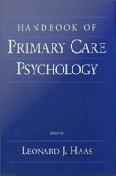 Handbook of Primary Care Psychology
