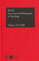 Bibliographie Internationale De Sociologie