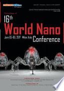 Proceedings of 16th World Nano Conference 2017