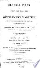 The Gentleman s Magazine  Or  Trader s Monthly Intelligencer Book