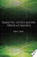 Bayesian Non And Semi Parametric Methods And Applications Book PDF