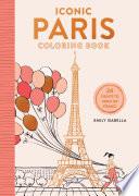 Iconic Paris Coloring Book